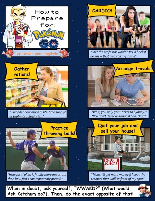 pokemon memes prep for pokemon go