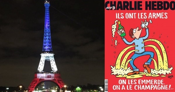 Middle Finger of The Day: Charlie Hebdo's Response to The Paris Attacks is Perfect