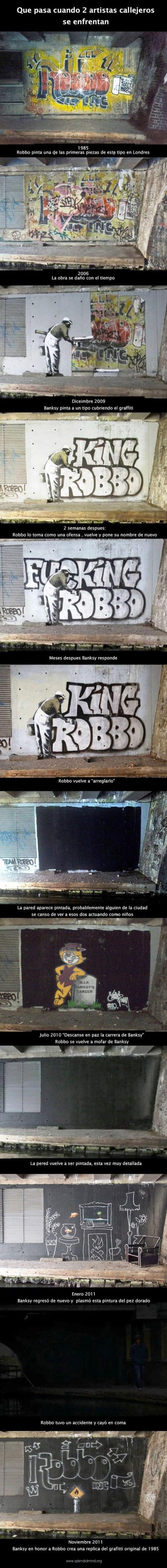 Guerra entre grafiteros