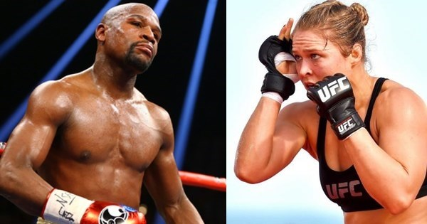 Surprise of The Day: Floyd Mayweather Comes to Defense of Ronda Rousey