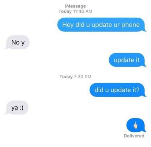 funny memes emoji update middle finger