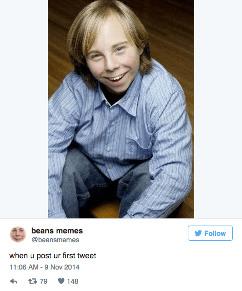 Beans Memes photoshop on an adult body