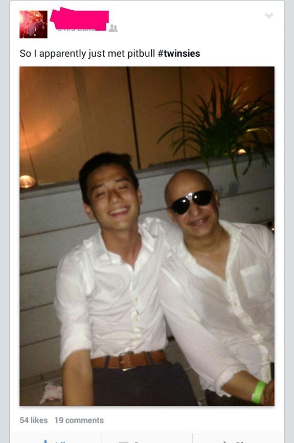White - So I apparently just met pitbull #twinsies 54 likes 19 comments