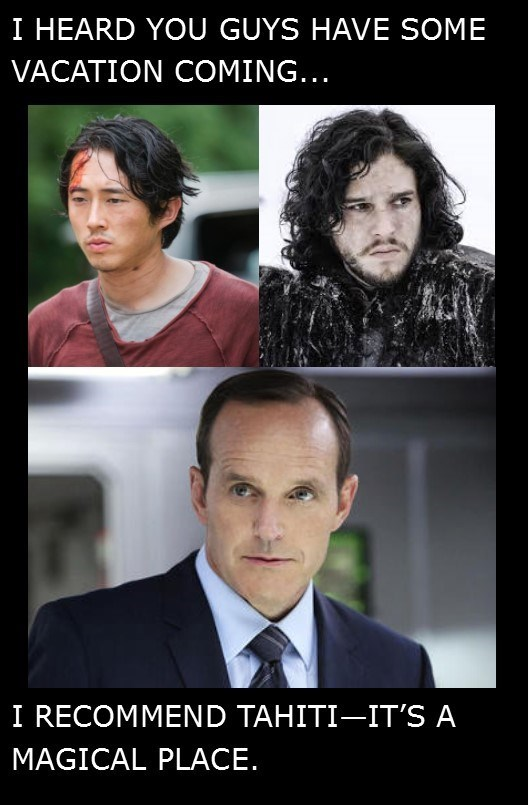 Game of Thrones tahiti agents of shield The Walking Dead - 8586493184