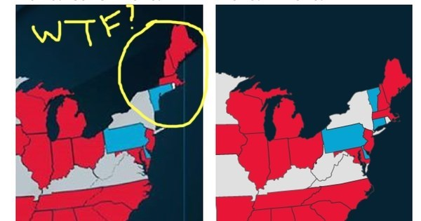 Political Fail of The Day: Ben Carson Doesn't Want Refugees in America, Can't Even Draw a Proper Map