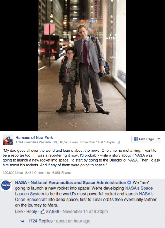 When This Young Boy Called Out Wanting to Report on NASA's Next Rocket Launch and NASA Responded