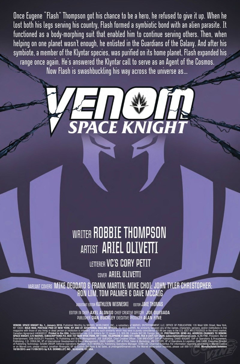 comics venom space knight New Logo for Space Knight Venom