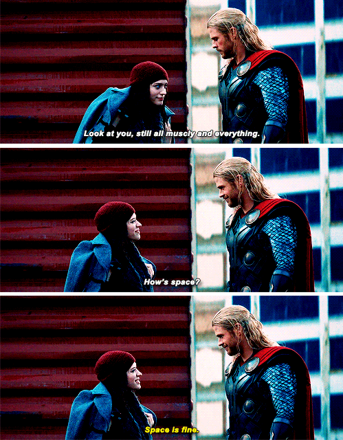 thor small talk Super Small Talk