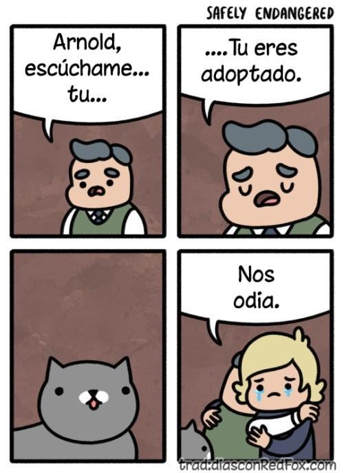 eres adoptado