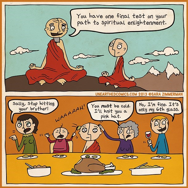 web comics thanksgiving Spending Time With Family Will Give You Something to Be Thankful For