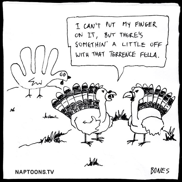 thanksgiving web comics He Must Be a Juvenile