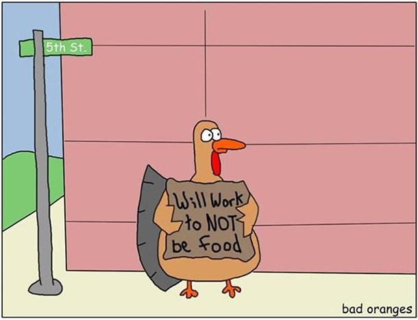 web comics thanksgiving How Are You At Making Casserole?