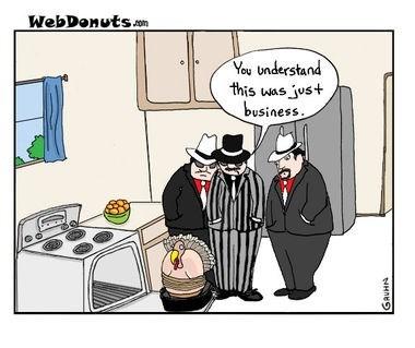 web comics turkey No Hard Feelings