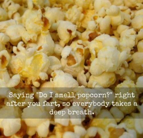 funny memes popcorn fart