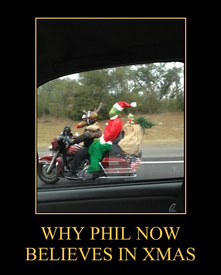 WHY PHIL NOW BELIEVES IN XMAS