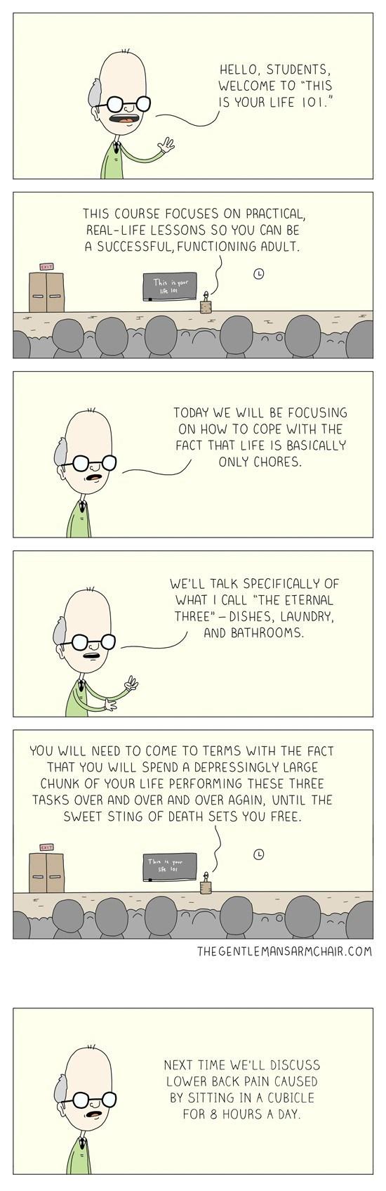 web comics work Lessons in Work/Life Balance