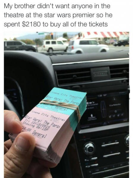 funny memes bought all the star wars tickets