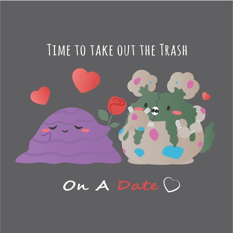 pokemon memes take out the trash on a date