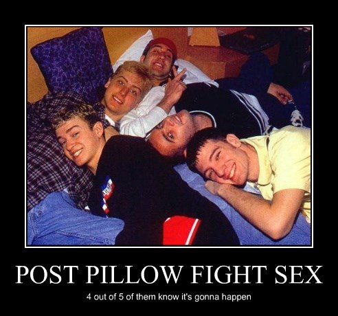 POST PILLOW FIGHT SEX