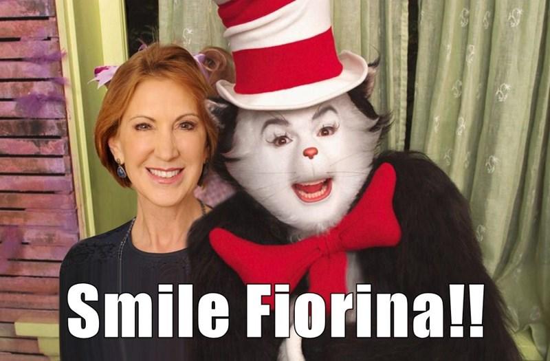 Smile Fiorina!!
