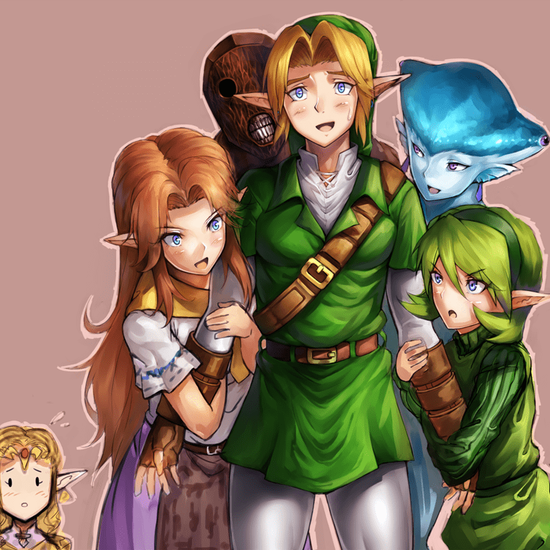 legend of zelda,Fan Art