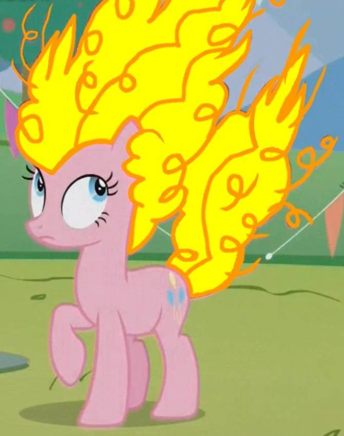 dragon ball over 9000 pinkie pie - 8587413760