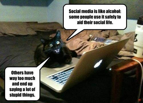 Social Media Is Like Alcohol