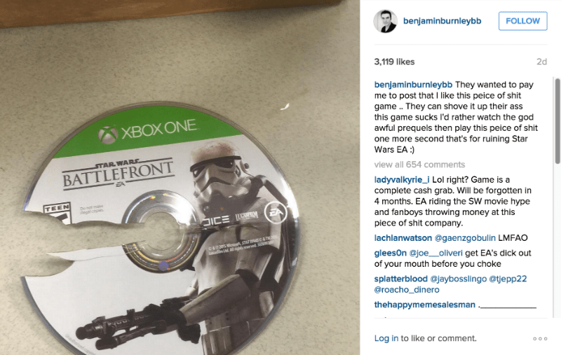 star wars instagram star wars battlefront breaking benjamin - 8587638528