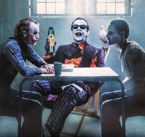 joker batman This Must Be Where the Jokers Hang Out