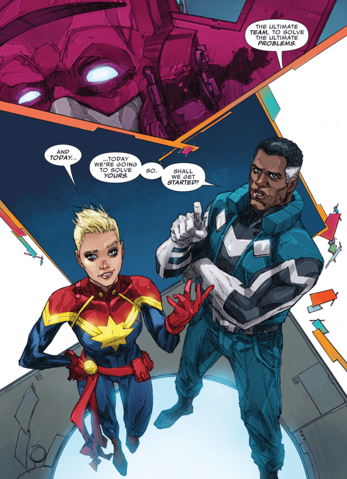 captain marvel comic If You Say So...