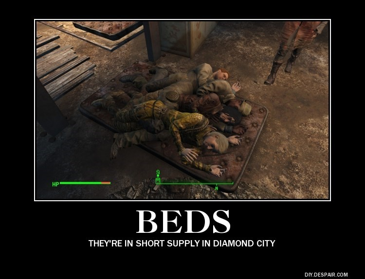 fallout 4 beds - 8587858432