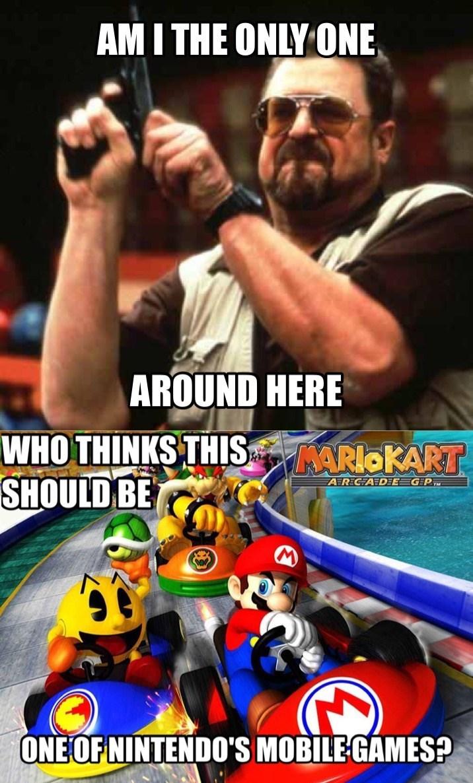 mobile games mari kart arcade nintendo - 8587892480