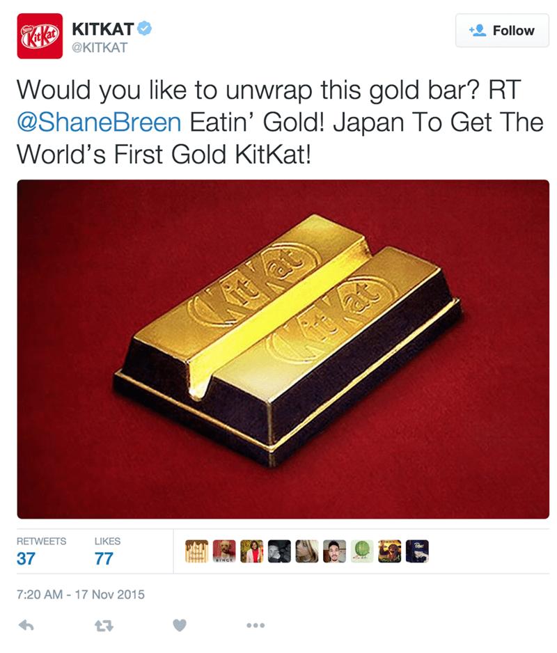 A Golden KitKat? Give Me a Break