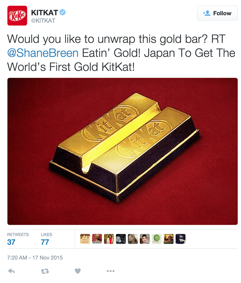 A Golden KitKat? Give Me a Break