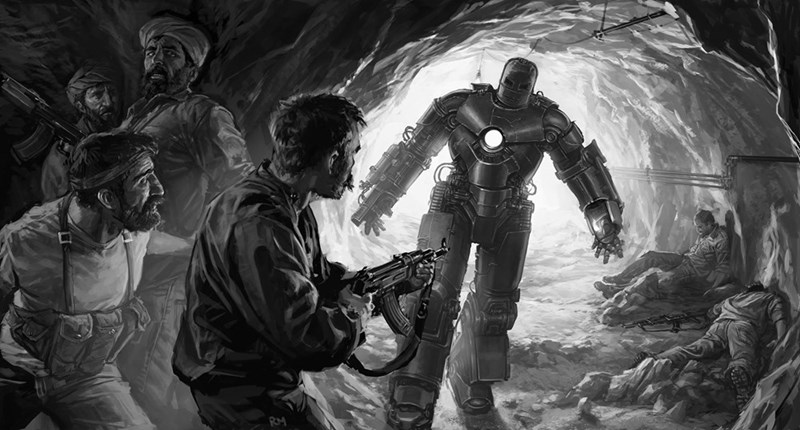 iron man image One of the First Keyframe Images From Iron Man