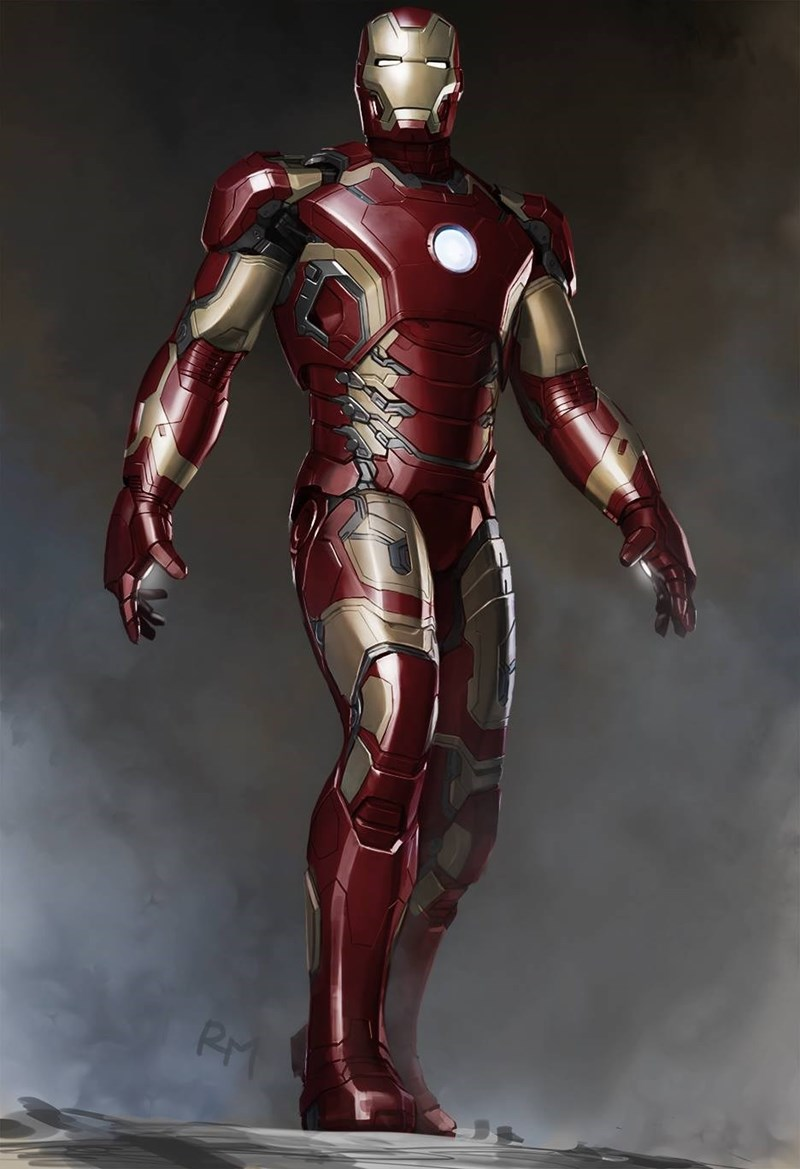 iron man image Mark 43 in Age of Ultron