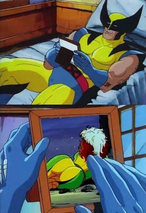 wolverine memes Does Rogue Know You Framed That?