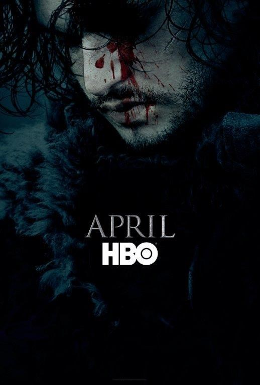game of thrones season 6 promo featuring jon snow