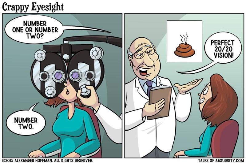 web comics eyesight You'll Be Fine as Long as You Can Read Emoji, Right?
