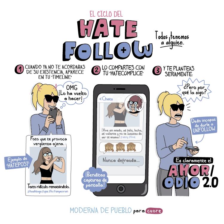 hate follow
