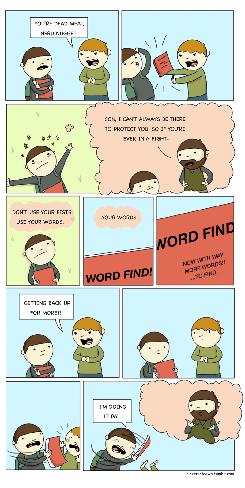 web comics words Words Can Hurt