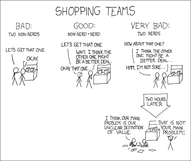 web comics black friday Pick Your Team Correctly for the Big Day