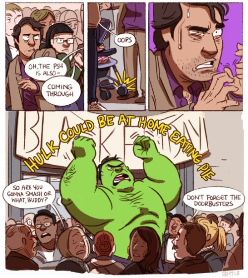 web comics hulk black friday HULK SAVE!