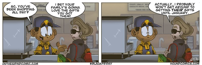 web comics black friday They Can Appreciate My New TV From the Other Room