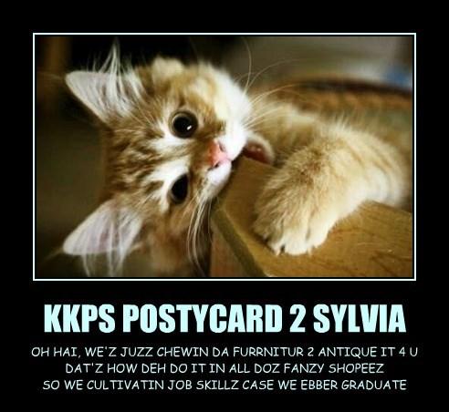 KKPS POSTYCARD 2 SYLVIA