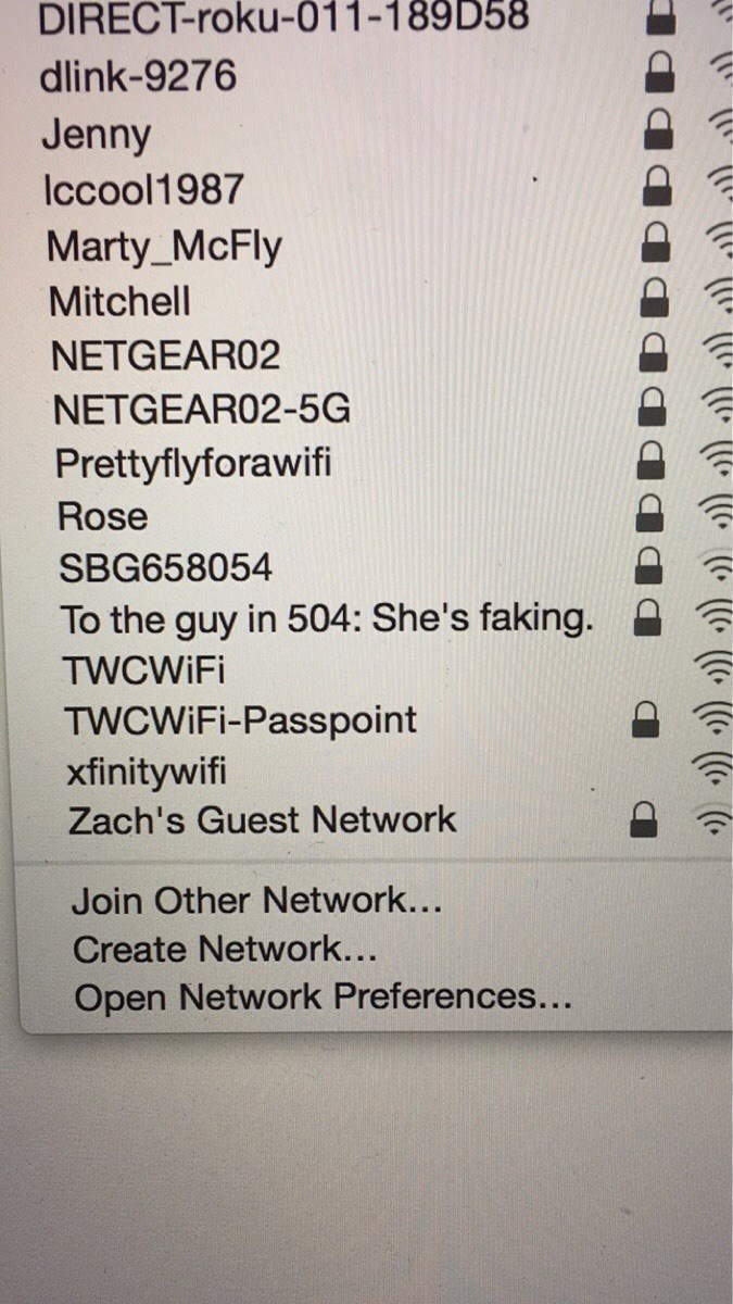 funny memes faking it router name