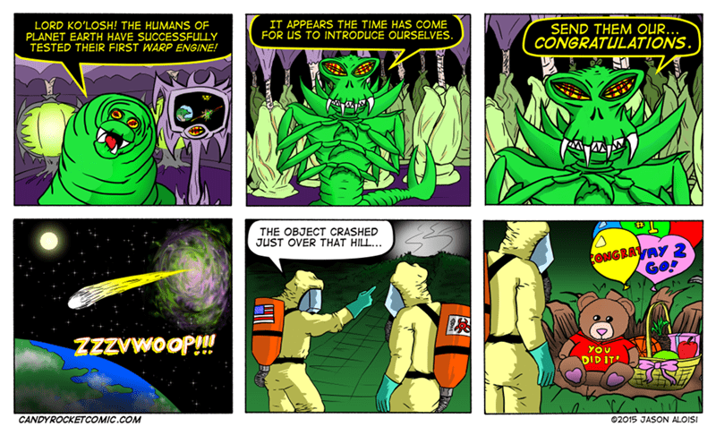 web comics aliens Well That Was Nice of Them