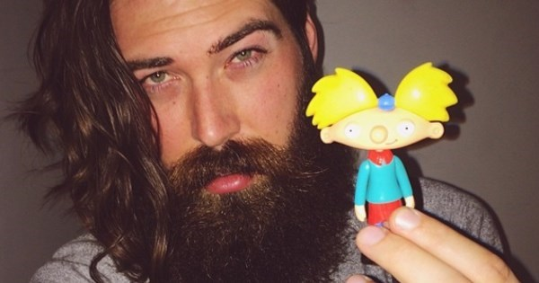 Transformation Tuesday of The Day: The Voice of Arnold From 'Hey Arnold!' is Now This Bearded God of a Man