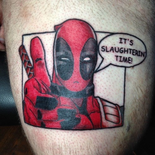 deadpool tattoos Sweet Tattoo