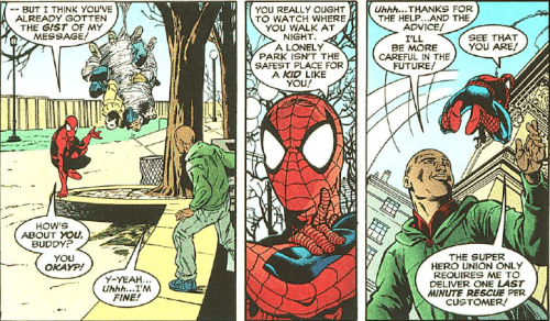 spider man comic You Only Get One